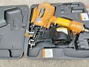 Stanley Bostitch Mcn65 Framing Coil Nailer/ Metal Connector W/ Case. Free Ship