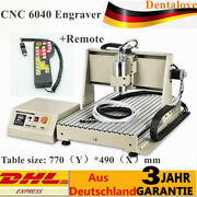 Usb Cnc 1500w 4 Axis 6040t 1.5kw Router Engraver Machine+remote Controller And Vfd