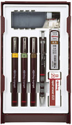 Rotring S0699370 Isograph Technical Drawing Pens Set 3-pen College Set .20-.5