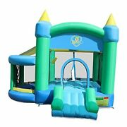 Inflatable Bounce House,bounce Castle With Jumping Ball Pitandbasketball
