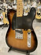 Fender 70th Anniversary Esquire Maple 2-color Sunburst Guitar From Japan Zqd523