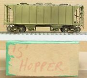 Omi/overland Models - 2-bay Covered Hopper Brass S-scale