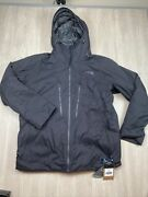 Menand039s Thermoball Eco Snow Tri Climate Jacket Msrp 349 Size Xl Black
