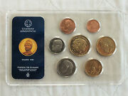 Greece 1993 8 Coin B/unc Mint Set - Sealed Pack