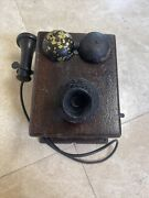 Western Electric Ringer Old Collectible Hand Crank Phone