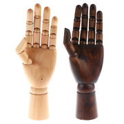 Wooden Mannequin Hand Jewelry Glove Ring Chains Bangle Display Stand Holder