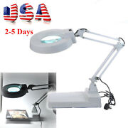 10x Magnifier Desktop Magnifying Glasses Desk Lamp For Jewelry And Watches Repair