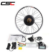 Electric Bicycle Conversion Kit 48v 1000w 1500w Motor Rear Wheel Canada Stock