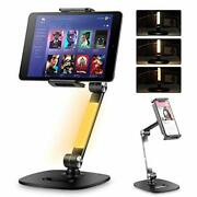 Ipad Stand Adjustable Ipad Holder Stand Tablet Stand With Light Stands With 3...