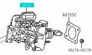 Toyota Genuine 47050-76070 Brake Booster Assy And Master Cylinder Lexus Ct200h