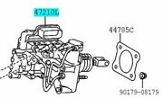 Toyota Genuine 47050-76150 Brake Booster Assy And Master Cylinder Lexus Ct200h