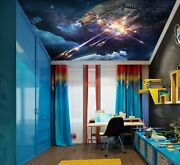 3d Cosmic Satellite Zhu315 Ceiling Wall Paper Wall Print Decal Wall Deco Amy