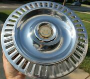 Oem 1955 1956 Chrysler Imperial 15andrdquo Hubcap Wheel Cover Dents