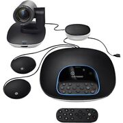 New Logitech Vc 960-001060 Group Video Conferencing System Plus Expansion Mics