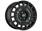 Complete Summer Wheel Set Oz Racing Rally 17 Inch Smart 453 Fortwo Forfour