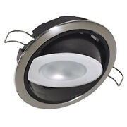Lumitec Mirage Positionable Down Light - Spectrum Rgbw Dimming - Polished Bez...