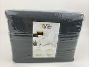 The Weave Story 4 Piece Sheet Set 800 Thread Count 100 Egyptian Cotton - Queen