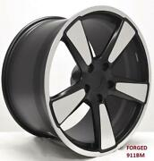 20and039and039 Forged Wheels For Porsche 911 991 3.8 Carrera 4 Gts 2013-15 20x8.5/11