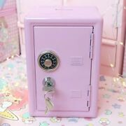 Safety Boxes Piggy Bank Metal Small Hostel Storage Cabinet Money Box