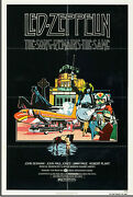 Led Zeppelin The Song Remains The Same 1976 Usa 1 Sheet Poster On Linen .