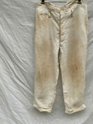 Empire Of Japan Early Showa Suspenders Button Pants Trousers Military Antique