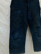 Empire Of Japan Early Showa Period Indigo Dye Pants Military Antique Vintage