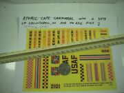 Marx Cape Canaveral 4526 Color Copy Of Decal Sheet From 1958