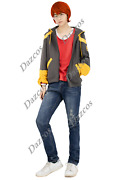 Dazcos Mystic Messenger 707 Cosplay Costume Mens Casual Outfit With Jeans