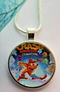Crash Bandicoot 4 ] Chain Necklace Gift Box Birthday [its About Time ] Gameing
