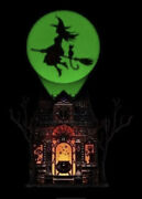 Bath And Body Works Haunted House Halloween Witch Projector Plug-in Nightlight