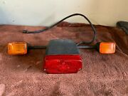 Bmw Rear Tail Light And Turn Signal Assembly R8090100 - Complete With Harness