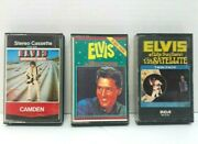 Elvis Presley Audio Cassettes Tapes Lot Of 3 - Aloha Hollywood Separate Ways