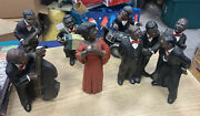 Lot Of 6 1990's Parastone Enesco All That Jazz Black Band Figurines Musical