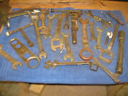 Implement Wrench Lot 4