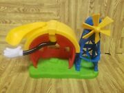 Mickey Mouse Clubhouse Mickey's Farm Playset Play Set And Slide Rare 2011 Mattel