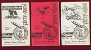 Indian Motorcycle Pow Wow Magazines 3 Summer/fall 82 And 86 Win Andlsquo86 Ships Free