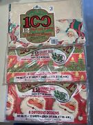 Vintage Papercraft Christmas Gift Wrap Wrapping Paper Large Lot