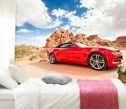 3d Chevrolet Car Zhu315 Transport Wallpaper Wall Mural Removable Self-adhesive