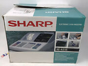 Sharp Xe-a21s Electronic Cash Register Thermal Printing New Open Box