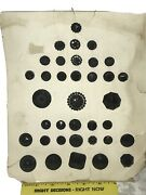 36 Antique Large And Small Faceted And Fancy Black Glass Buttons Old Display Card