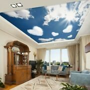 3d Love Cloud Zhu1076 Ceiling Wall Paper Wall Print Decal Wall Deco Amy