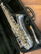 Pre-owned John Packer Tenor Saxophone In Silver - Repadded Perfect - Ships Free