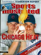 Chicago Cubs Sports Illustrated No Label Kerry Wood-mark Prior 2003 Cubs Win