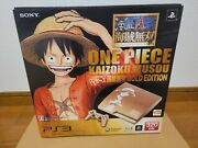 New Playstation 3 One Piece Console Ps3 System Japan Un-opened For Collection