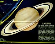 Heavens Map/star Charts National Geographic Vintage Cartography Illustrated—1970