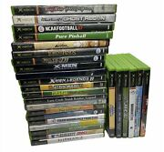 Original Xbox Games Lot Of 20+ As Is Untested Most Cib