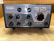 Drake R-4a Communications Radio Receiver Complete Untested Needs Power Cord