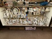 Lladro Collection Lot Over 50 Figures Statues Staten Island Pick Up Porcelain