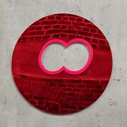 Greg Bogin Mr Sunset Red Acrylic Mirror With Pink Ed 50