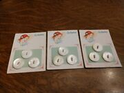 Antique Luckyday Pearl Buttons New Old Stock Original Cards Mississippi River